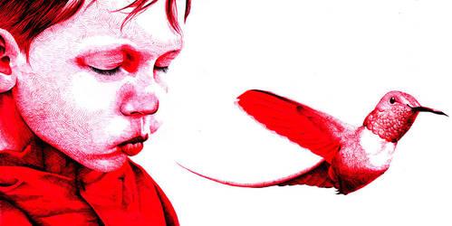 Child humming by chriskoehler