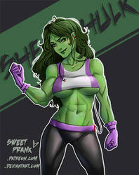 SHE Hulk by SweetPrank