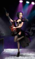 Rocker Chick Katy by SweetPrank