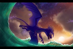 Thunderstorm Waves by Kelskora