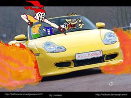 Hellmobile-wallpaper by hellsion