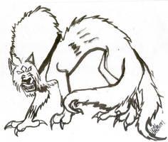 wolf dragon thing by hellsion