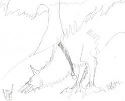 wolf dragon thing2 by hellsion