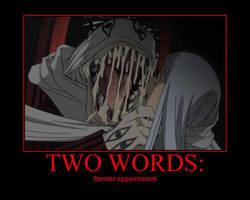Soul Eater Poster: Dentist by ZMurcielago