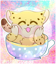 Leo in a Cup~ by GoofyBandit