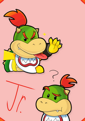 Bowser Jr! by GoofyBandit