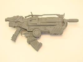 Gears of War Hammer Burst 2 by OliverBrig