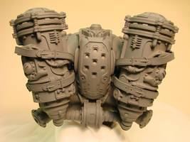 Gears of War back pack by OliverBrig