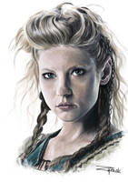 Lagertha Lothbrok by Wojzym