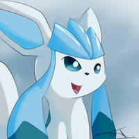 Glaceon by AsteraArt