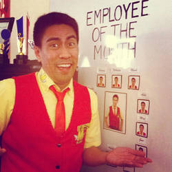 Ang Maskot Movie Ramon Employee by mac0y