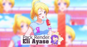 Pack Render - Eli Ayase by KKazuoi