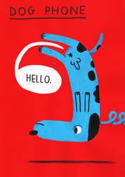 DOG PHONE by laresistance