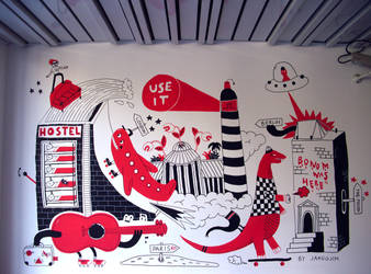 USE-IT MURAL 2011 by laresistance