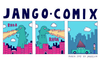 JANGO COMIX - MONSTER TIME by laresistance