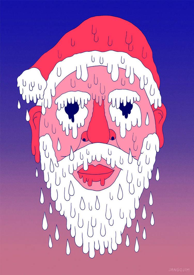 Melty Santa by laresistance