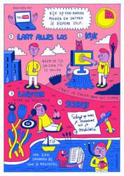 Youtube Meditation Illustration by laresistance