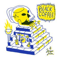 BLACK COFFEE ( VINYL COVER + ZINE ) by laresistance
