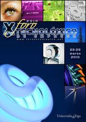 Poster - X Foro tecnoloxico by Sagawa