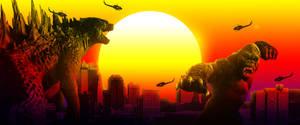 Godzilla vs Kong - The Clash of Kings by Awesomeness360