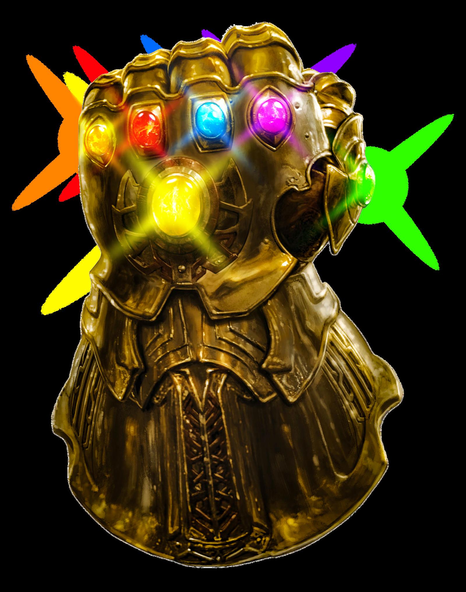 Infinity Gauntlet render (glowing stones) by ...