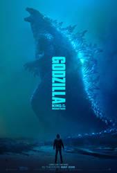 GODZILLA: KING OF THE MONSTERS | Godzilla Poster by Awesomeness360