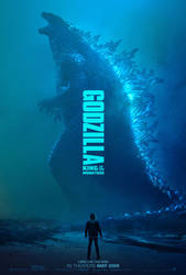 GODZILLA: KING OF THE MONSTERS | Official Poster by Awesomeness360