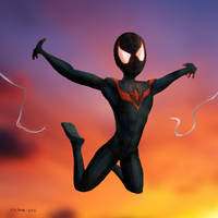 Spider Man - Miles Morales by Lite-mike