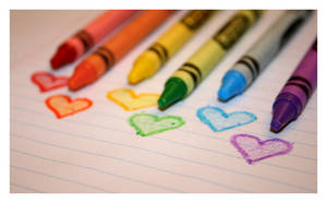 Crayon Hearts 02. by kb-ownsyourface