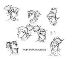 Iruka Sketches by UchinanchuDuckie