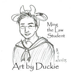 Ming the Law Student by UchinanchuDuckie