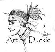 Iruka-'cause I never draw him by UchinanchuDuckie
