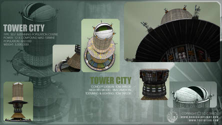 TOWER CITY - DARK AGE of LIGHT by TCCTaylor