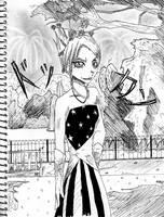 Firework Sketch by sarugaki339