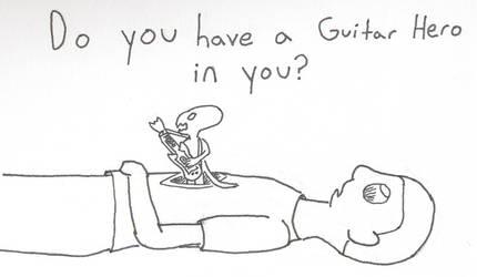 Is there a guitar hero in you? by Bocaj-Claw