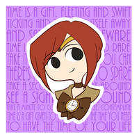 Time is a Gift by drawnbykenna