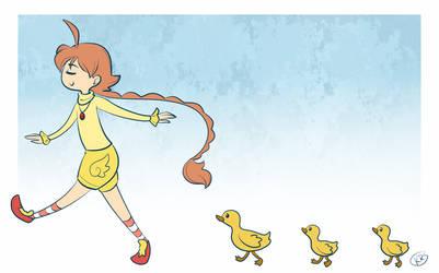 Duck Trail by drawnbykenna