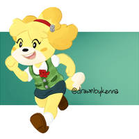 isabelle by drawnbykenna