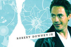Robert Downey Jr x by glassballerina