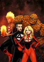 Daily Sketches Fantastic Four by fedde