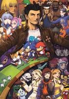 Sonic Speed Sega Tribute by fedde