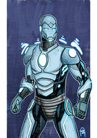 Daily Sketches Superior Iron Man by fedde