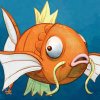 Daily Sketches Magikarp by fedde