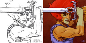 Daily Sketches Lion-O by fedde