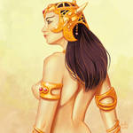 Daily Sketches Dejah Thoris by fedde