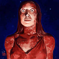 Daily Sketches Carrie White by fedde