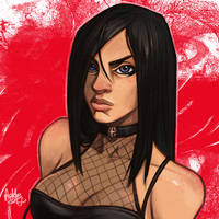 Daily Sketches Cassie Hack by fedde