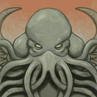 Daily Sketches Cthulhu by fedde