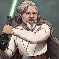 Daily Sketches Luke Skywalker by fedde