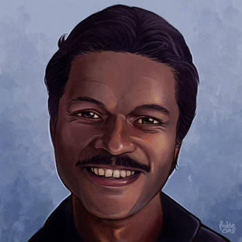 Daily Sketches Lando Calrissian by fedde